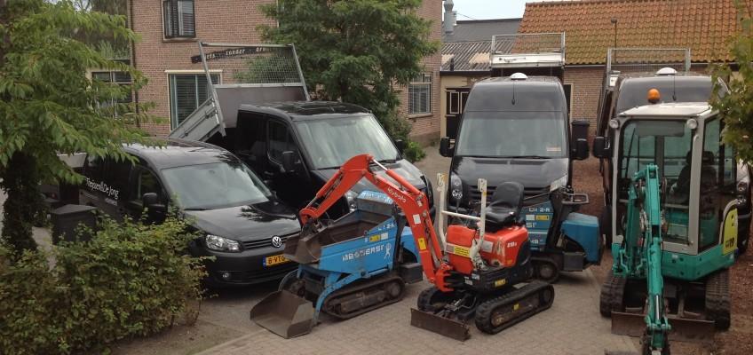 Wagen/machine park