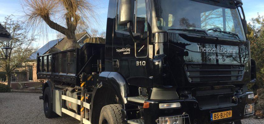 Aanschaf vrachtwagen